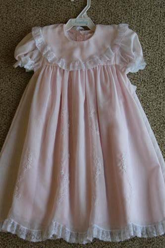 Auraluz Pink Dress Slip Fisher S Baby Boutique