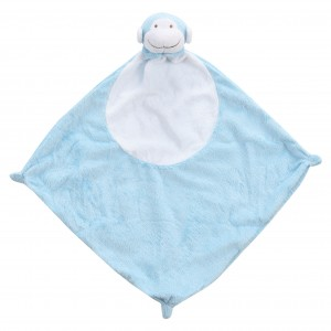 Angel Dear Blue Monkey Blankie
