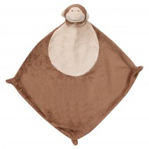 Angel Dear Dark Monkey Blankie