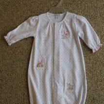 Fair Maiden Print Convertible Gown