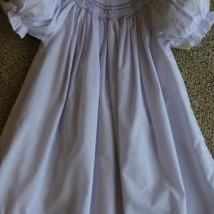 White Day Dress With Ruffles