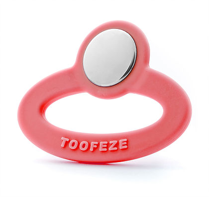 Toofeze- Coral teether | Fisher's Baby Boutique