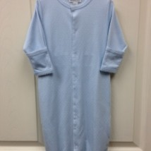 Blue Conv Gown w White dots