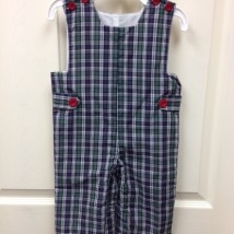 Blue Plaid Longall