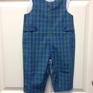 Boy's Plaid Longall