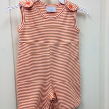 Boy's Orange and White Romper