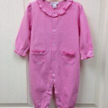 Fuchsia Stripe Play Suit