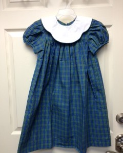 Girl's Plaid Dress