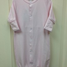 Pink w White Dots Conv Gown