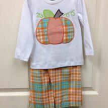 Boy's Pumpkin Set