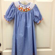 Scarecrow and Pumpkin Dress