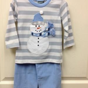 Snowman Pant Set