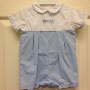 Blue & White Train Shortall
