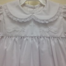 Christening Dress Close up
