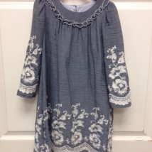 Gracie Slate Dress