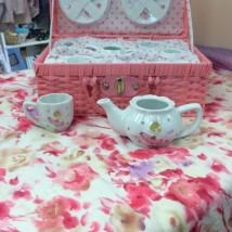 Pink Bella Ballerina Tea Set