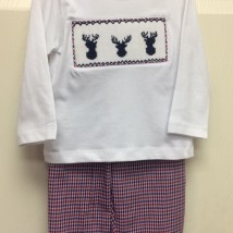 Deer Head Smock Pant Set