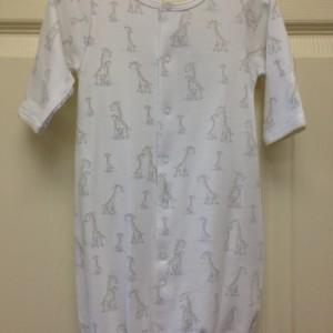 Giraffe Generation Conv Gown
