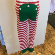 Holly Jolly Stripe Set Back