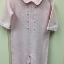 Pink Rose Onesie w Hat