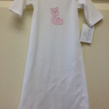 Pink Bear Gown