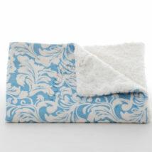 BB-FD-L04Fleur-De-Lys-Blue-Blanket