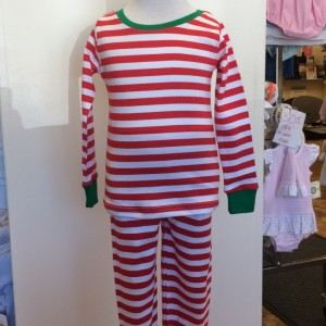 Holly Jolly Stripe Set Front