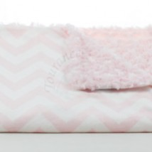 Light Pink Cheveron Blanket