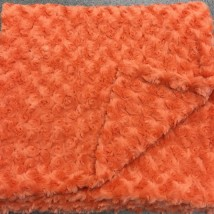 Orange Rosebud Blanket