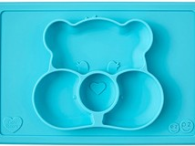Teal Wish Bear Mat