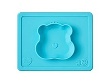 Teal Wish Bear Mini Mat