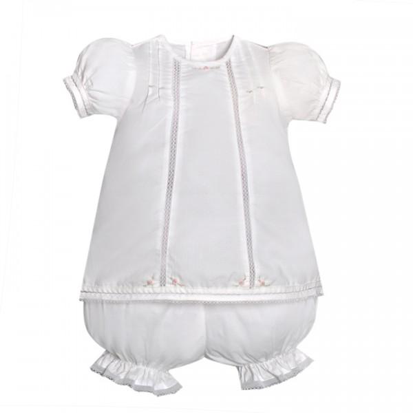 Sen Baby- White Savannah Dress | Fisher's Baby Boutique