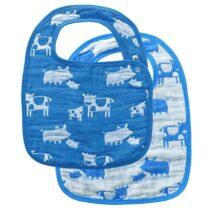 Blue Farm Animal Bibs