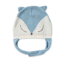 Blue Fox Hat