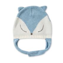 Blue Fox Hat
