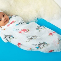 Farm Animal Swaddle 2