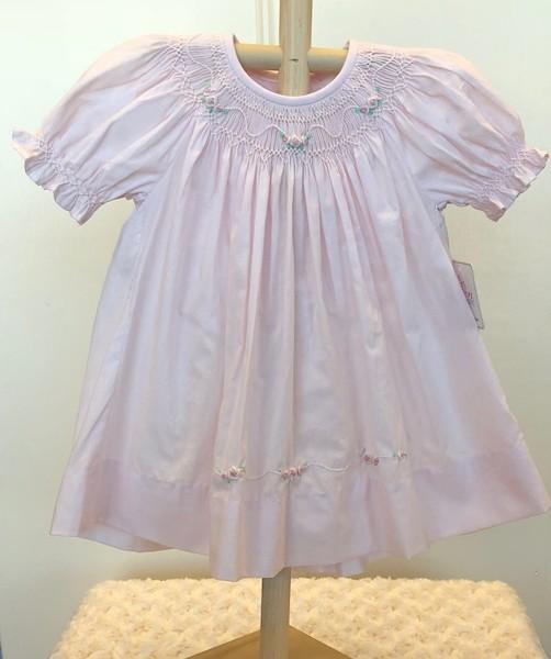 Sen Baby- Pink Michelle Bishop Dress | Fisher's Baby Boutique