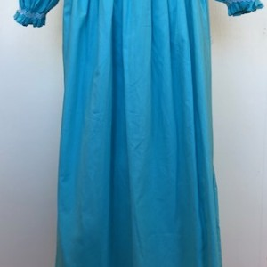 Turqoise Smocked Dress