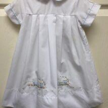 White Boy's Train Gown