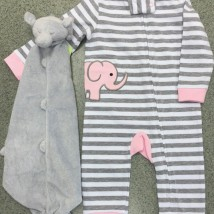 Elephant Girl Romper