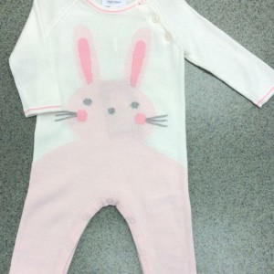 Pink Bunny Coverall