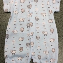 Blue Sheep Romper