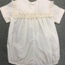 Ecru Boy Bubble w Ecru Lace