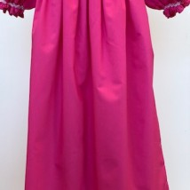 Hot Pink Smocked Dress