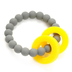 Mulberry Teether Stormy Grey