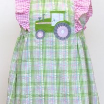Tractor Dress w Bloomers