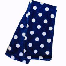 Blue Polka Dot Blanketr