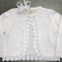 White Bolero Sweater