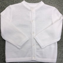 White Unisex Sweater