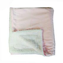 Pink Mink Sherpa Blanket